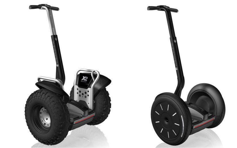 Segway on kaksipyöräinen moottorisoitu henkilökuljetin, joita löytyy useita eri malleja.