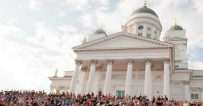 Sibelius kajahtaa taas Senaatintorilla
