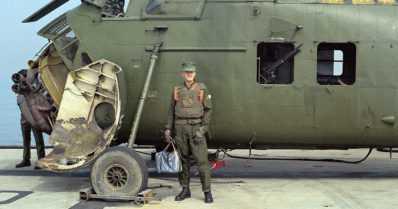 Suomalainen Vietnamin sodan helikopterilentäjä on kuollut
