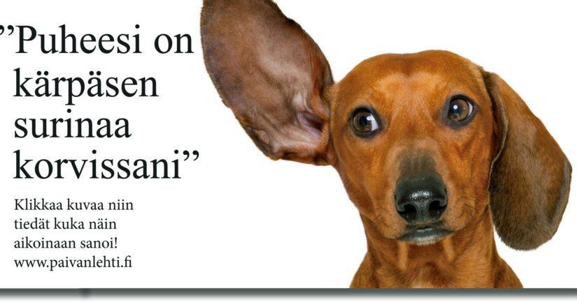 Kuulija saattaa olla myös eri mieltä, ja teeskentelee siksi että toisen kanta ei kiinnosta.