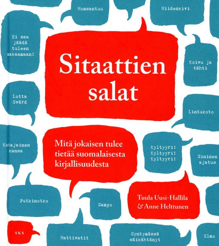 Tuula Uusi-Hallila, Anne Helttunen: Sitaattien salat