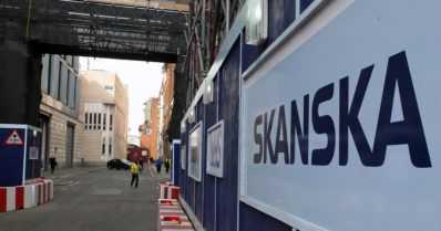Skanskan johtajaa epäillään lahjonnasta kauppakeskushankkeessa