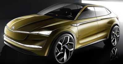 Skoda ei tee pelkästään järkeviä autoja – mallistoon on tulossa jopa sähkökäyttöinen sportti