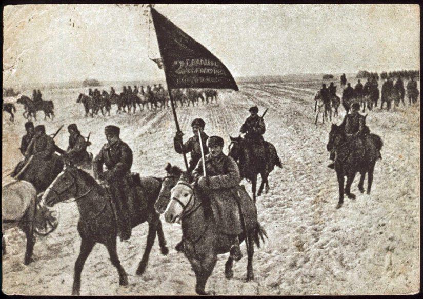 Alkuperäinen kuva löytyy esimerkiksi venäjänkielisen Wikipedian ratsuväkeä käsittelevältä sivulta.
