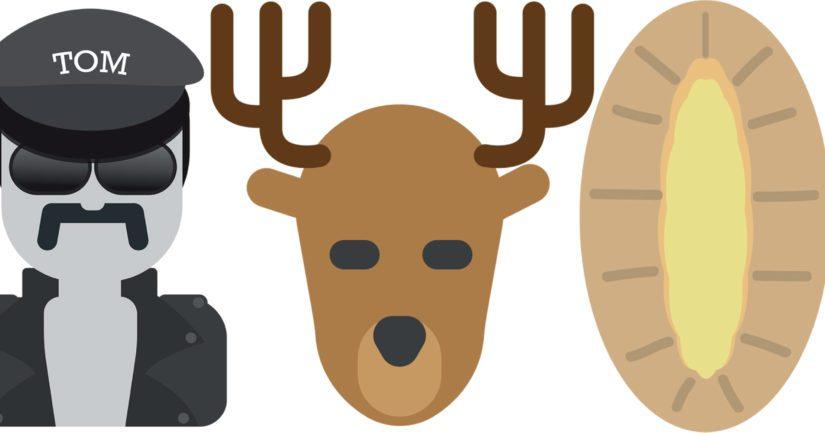 Mitä mieltä olet – emojit Tom of Finlandille, Lapille ja karjalanpiirakalle?