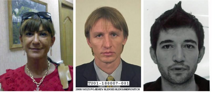 Svetlana Hytti, Aleksei Pojidaev sekä Choman Hidajet ovat etsintäkuulutettujen listalla.