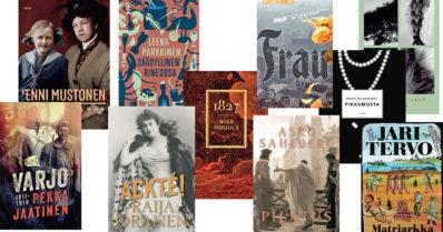 Syksyn historialliset romaanit, suosittelemme!