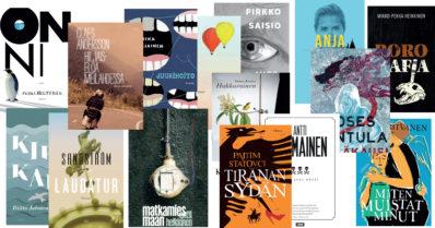 Syksyn suositellut kotimaiset romaanit, ole hyvä!