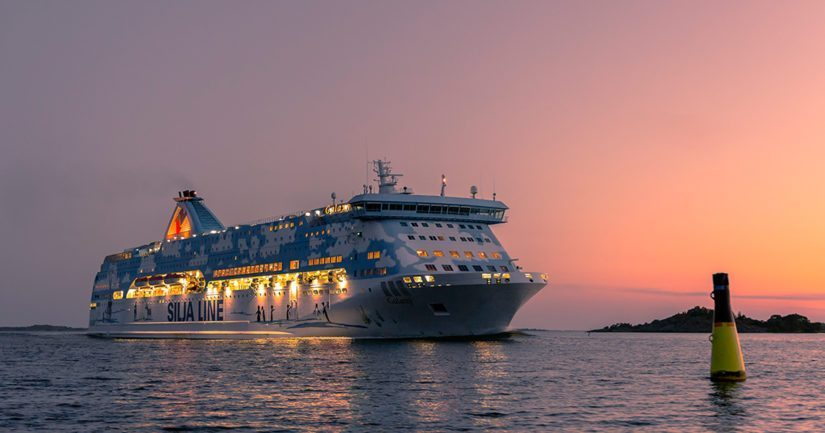Tallink Siljan M/S Galaxyn valvontakameran tallenteista selvisi, että mies oli pudonnut mereen aamuviiden aikaan lauantaina.