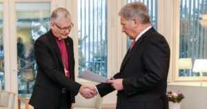 Presidentti Niinistö vastaanotti Yhteisvastuu 2018 -keräyksen tuoton – yli 3 miljoonaa euroa