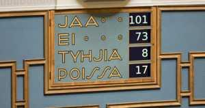 Eduskunta äänesti työllisyyspolitiikasta – hallitus nauttii luottamusta äänin 101–73