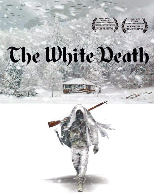Simo Häyhästä kertovasta amerikkalaisesta elokuvasuunnitelmasta on tehty jo promootiojuliste.