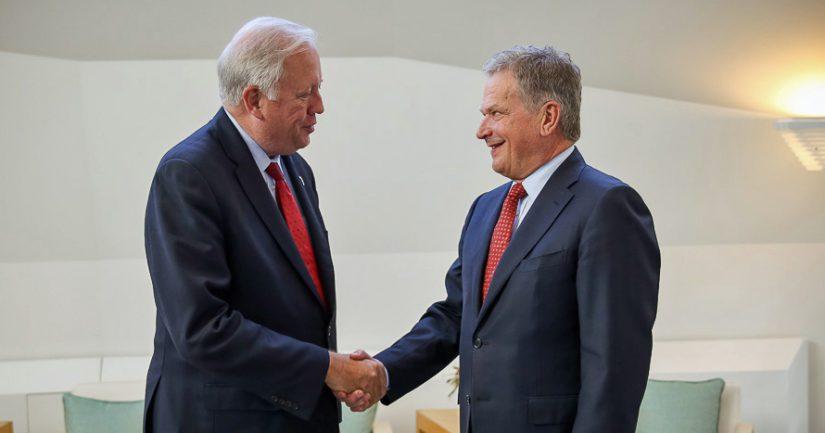 Yhdysvaltain apulaisulkoministeri Thomas A. Shannon tapaa Suomessa presidentti Niinistön lisäksi Venäjän varaulkoministerin Sergei Rjabkovin.