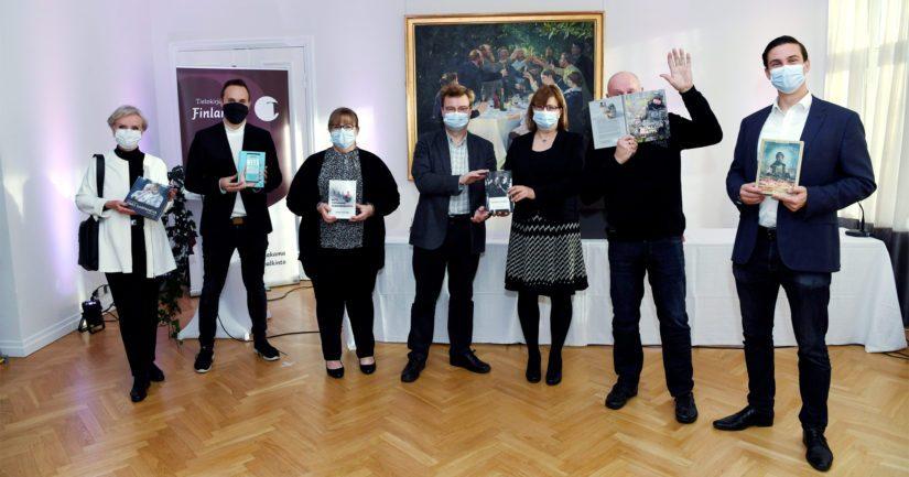 Tietokirjallisuuden Finlandia -palkinnosta kisataan tällä kerralla tämän ryhmän kesken.