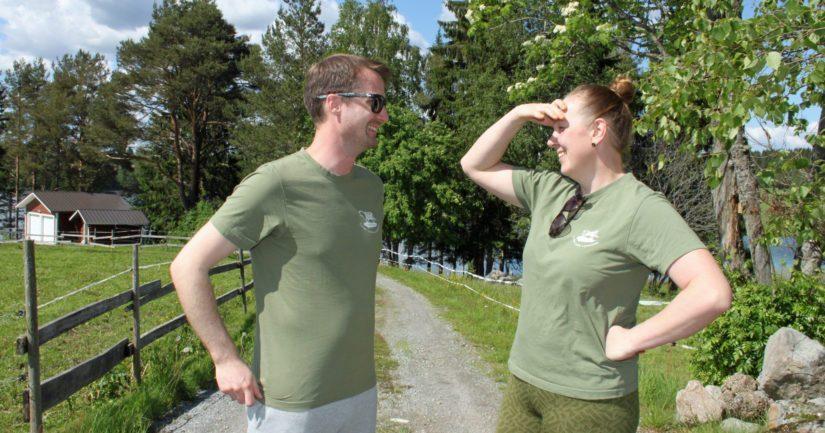 Yhdessä Tiina ja Heikki ovat pystyneet rakentamaan tilasta oman näköisensä, mutta kuitenkin perinteitä kunnioittaen.