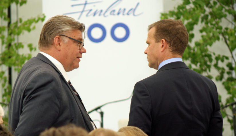 Timo Soinin ja Petteri Orpon keskustelun aihe oli varmasti ajankohtainen.