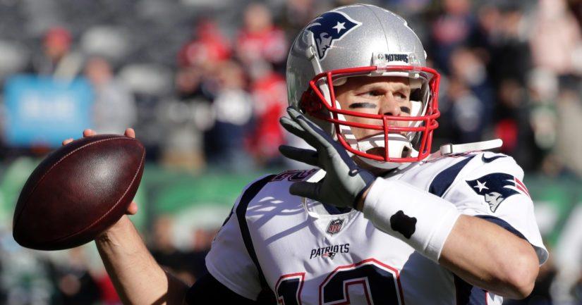New England Patriotsin 41-vuotias pelinrakentaja Tom Brady on ollut mukana kaikissa joukkueensa mestaruuksissa.