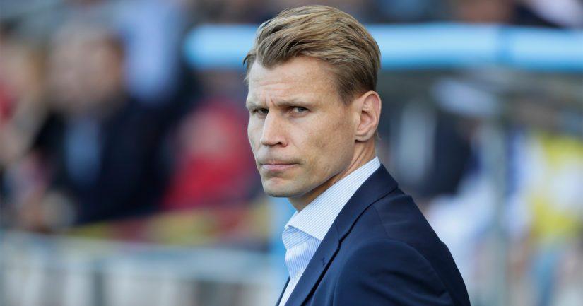 HJK:n päävalmentaja Toni Koskela sanoo töiden jatkuvan.