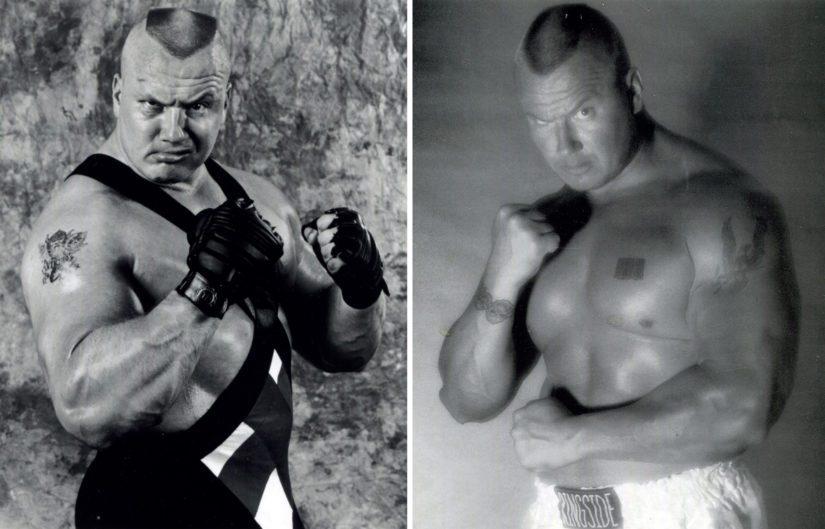 Pahamaineinen vapaapainija Ludvig Borga vaihtuu nyrkkeilijä Tony Halmeeksi.