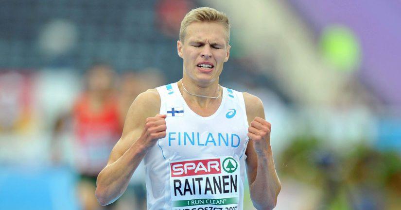 Topi Raitanen oli luvannut ajaa viiksensä pois jos ennätysaika syntyy.