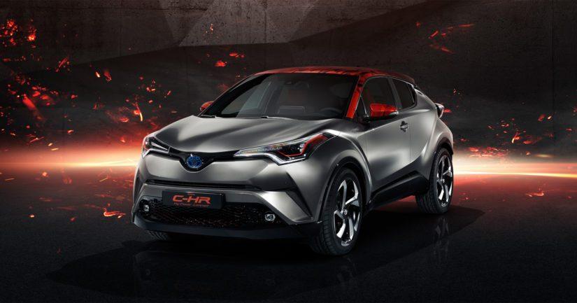 Toyota antoi esimakua urheilullisesta hybridistä jo C-HR Hy-Power -nimisen konseptin myötä.