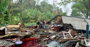 Indonesian tsunamin uhriluku nousee – suomalaisten matkailijoiden tilannetta selvitetään