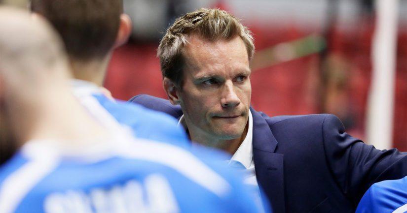 Tuomas Sammelvuo valmensi Venäjän miesten lentopallomaajoukkueen Tokion 2020 olympiaturnaukseen.