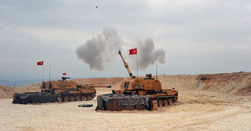 Turkki aloitti maahyökkäyksen Syyriassa olevia kurdijoukkoja vastaan.