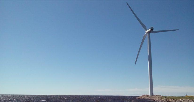 Uusiutuvan sähkön tuotanto, jolla voitaisiin erottaa vetyä vedestä, tarkoittaisi esimerkiksi tuulipuistojen rakentamista Pohjanmerelle.