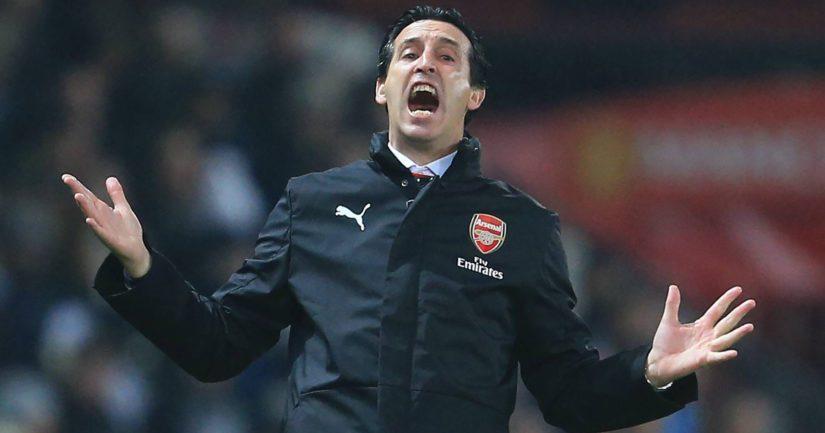 Nykyään Unai Emery valmentajaa Englannin Valioliigassa pelaavaa Arsenalia.