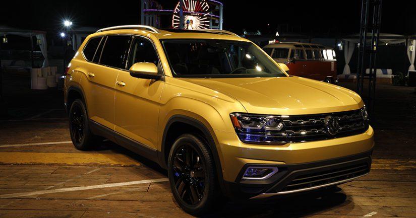 VW-malliston täydennykseksi Amerikassa esiteltiin jenkkien rakastama iso katumaasturi.
