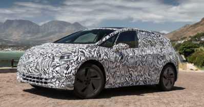 VW paljasti ensimmäiset kuvat ja tiedot sähköautostaan – uuden I.D:n toimintasäde on jopa 550 kilometriä