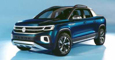 VW esitteli Sao Paulon autonäyttelyssä Tarokin – henkilöautojen perusrakennetta hyödyntävän pick-upin