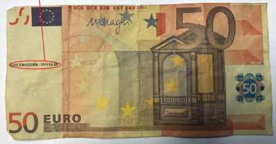 Varo väärennettyä rahaa – nyt löytynyt jo 20, 50 ja 100 euron seteleitä