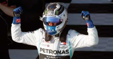 Valtteri Bottakselle upea onnistuminen – Lewis Hamilton sai pettyä kotiyleisönsä edessä