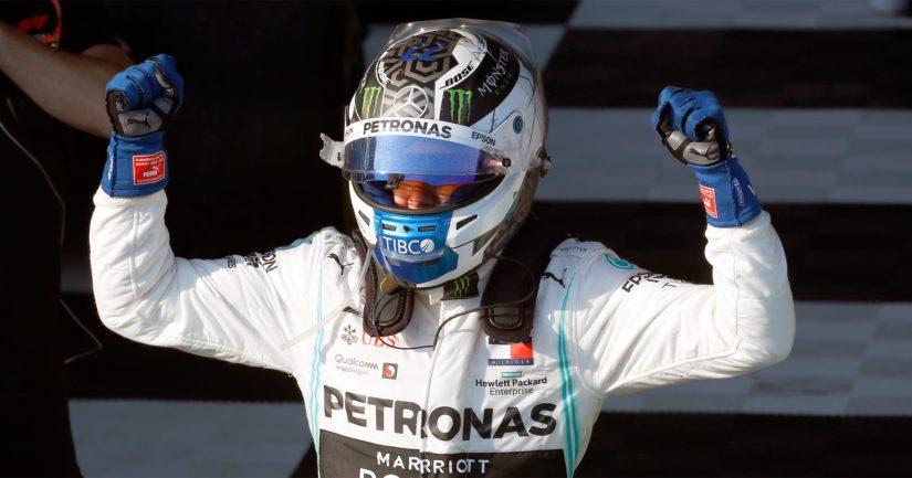 Valtteri Bottas otti F1-kauden avauskisassa voiton, viime kaudella ykkössijat karttoivat suomalaista.
