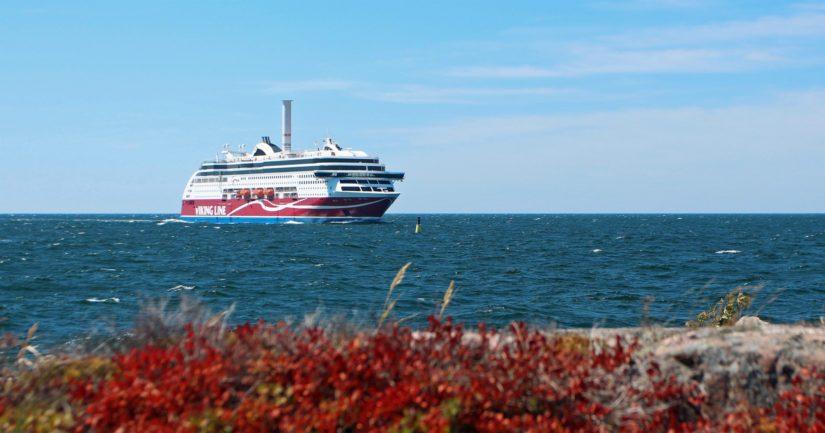 Viking Gracen haveri sattui noin puoli kilometriä Maarianhaminan satamasta.