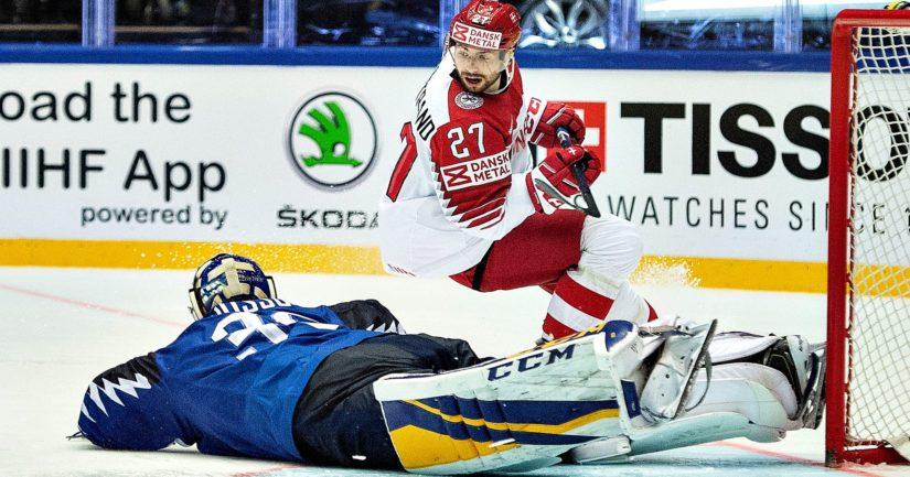 Ville Husso torjui Leijonien MM-kisajoukkueessa 2018. NHL:ssä hän pääsi debytoimaan vasta 2021