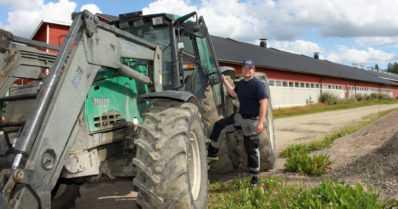 """Maatilan budjetti pysyy kurissa ilman vierasta työvoimaa – """"Raivaamme pellot omilla koneilla ja omin voimin"""""""