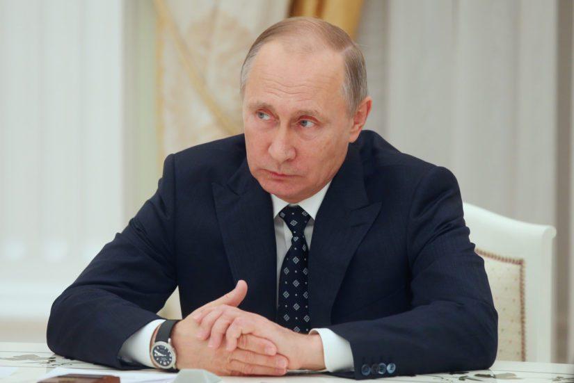 Vladimir Putinin solisluu katkesi arkkipiispa John Vikströmin taklauksessa vuonna 1994.