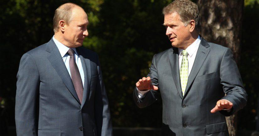 Vladimir Putin ja Sauli Niinistö pitävät yllä jatkuvaa keskusteluyhteyttä.