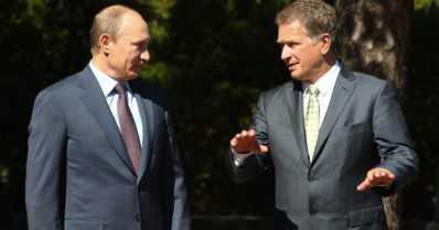 Kolme presidenttiä tapaa Arkangelissa – Niinistö, Putin ja Jóhannesson