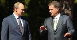 Presidentti Niinistö tapaa Putinin kahden kesken – mukana myös arktisessa foorumissa Venäjällä