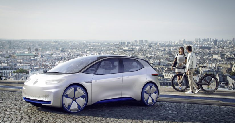 Tulevat sähköautot toimivat Volkswagenin uutena tavaramerkkinä.