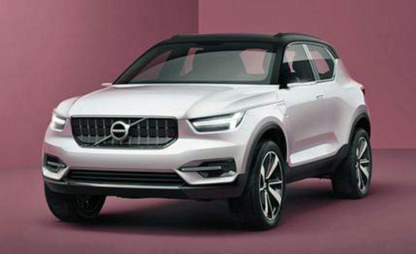 Volvolla on jo olemassa kompaktiautoja varten suunniteltu modulaarinen CMA-perusrakenne.