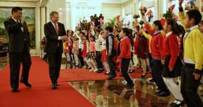 """Presidentti Sauli Niinistö valtiovierailulla Kiinassa – """"Ei karttakepillä kannata mennä opettamaan"""""""