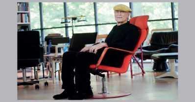 Sisustusarkkitehti Yrjö Kukkapuro sai elämäntyöpalkinnon – muotoilija toimii insipiraationa muille