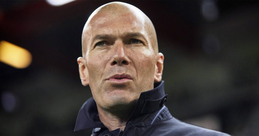 Zinedine Zidane voitti Real Madridissa peräti kolmesti Mestarien liigan valmentaessaan joukkuetta ensimmäisen kerran.