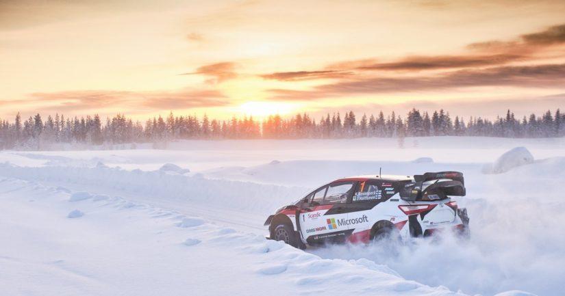 Rallin MM-osakilpailu ajetaan 26.-28. helmikuuta Rovaniemellä (Kuva: Hannu Rainamo)
