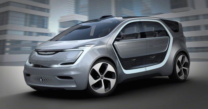 Chryslerin konsepti on visioitu ns. kolmanneksi tilaksi työpaikan sekä kodin välillä.